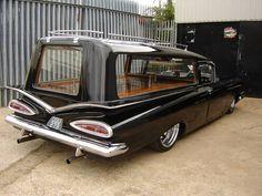Lovely Impala hearse.