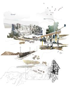 Thesis Thursday > Gillian van der Klashorst's thesis Urban Observatory looks at Johannesburg through a measured lense - Architecture Architecture Mapping, Architecture Collage, Architecture Graphics, Urban Architecture, Architecture Drawings, Architecture Portfolio, Concept Architecture, Architecture Diagrams, Ancient Architecture