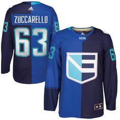 e30175288 adidas Mats Zuccarello Europe Hockey Royal World Cup of Hockey 2016 Premier  Player Jersey