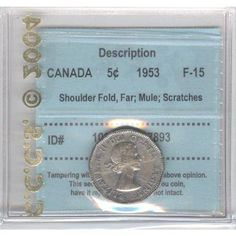 Top 10 rare Canadian nickels include the 1926 far 1947 dot, 1951 high relief, 1953 Shoulder Fold (SF) Far Maple Leaf, the 1925 and 1965 large beads. Rare Coins Worth Money, Valuable Coins, Maple Leaf Images, Thousand Dollar Bill, Canadian Coins, Canadian History, Foreign Coins, Coin Worth, Old Coins