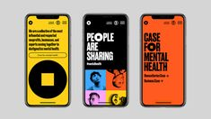 Pentagram creates an uplifting brand identity for the Mental Health Coalition – Creative Review