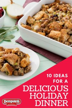 Make the perfect Christmas dinner with these great Dempster's recipes!