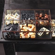 Love this glass box! Adorable for gifts or just organizing! - On the Xmas List!