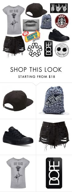 """""""Warped tour outfit #12"""" by cutemonsterbvb ❤ liked on Polyvore featuring Vans, Converse and Casetify"""