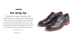 Mens Shoes & Footwear : The Shoe Guide | J.Crew