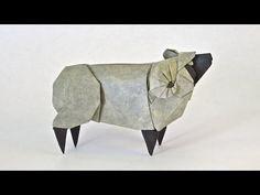 How to make an origami Sheep - YouTube