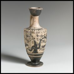 Attributed to the Painter of Athens 9690 | Lekythos | Greek, Attic | Archaic | The Met