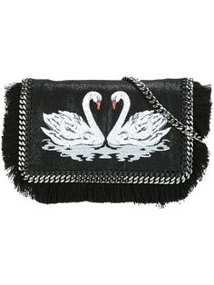 "Comprar Stella McCartney bandolera cisne ""Falabella"" en Lattuada from the world's best independent boutiques at farfetch.com. Descubre 400 boutiques en 1 sola dirección."