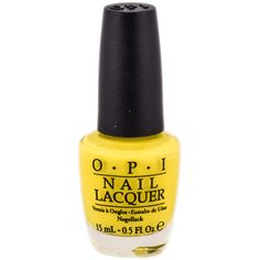 OPI Nail Studio Orange Yellow A65 I Just Can't Cope-Acabana ($7.25) ❤ liked on Polyvore featuring beauty products, nail care, nail polish, nails, makeup, beauty and fillers