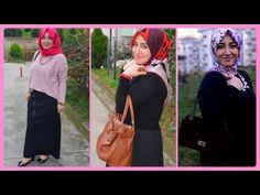 AUTUMN LOOKBOOK - Outfit Ideas, Outfit Ideas with maxi skirt, Hijabi Fas...