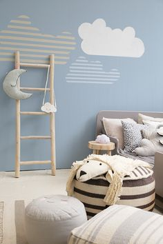 Blue in kids rooms