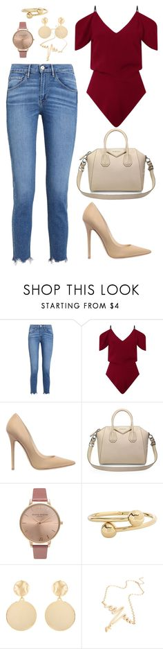 """casual outfit"" by adolia-fr on Polyvore featuring moda, 3x1, Roland Mouret, Jimmy Choo, Givenchy, Olivia Burton, J.W. Anderson, Mounser, casualoutfit y CasualChic"
