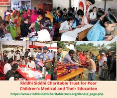 Riddhi Siddhi Charitable Trust for Poor Children's Medical and Their Education. which is committed to providing basic education children. Support & Donate Now Poor Children, Save The Children, Education Trust, Children's Medical, Social Injustice, Donate Now, Citizenship, India