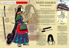 Find images and videos about japan, samurai and Onna-bugeisha on We Heart It - the app to get lost in what you love. Japanese History, Asian History, Women In History, Japanese Culture, Japanese Art, Female Samurai, Samurai Armor, Kendo, Karate