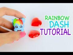 Kawaii My Little Pony Tsum Tsum polymer clay tutorial