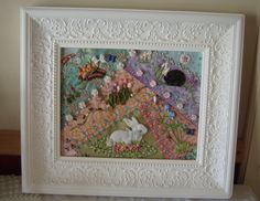 Shawkl: Basket - Crazy Quilt & Embroidery Designs by Kathy Shaw   I absolutely love this.