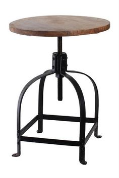 gorgeous industrial stool