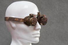 Burning Man Goggles  Post Apocalyptic Steampunk Mad Max Style