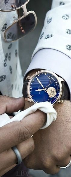 The stunning Arnold Son Perpetual Moon | LBV A14 ♥✤