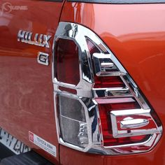 49.91$  Watch now - http://alips1.shopchina.info/go.php?t=32390540406 - 2016-2017 Chrome Design For Toyota Hilux 2016 Accessories Tail Light Cover Trim For Toyota Hilux Revo Suitable Hilux Ycsunz  #magazineonlinewebsite