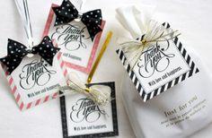 結婚式にも使える、手作りのプチギフトのタグの作り方&テンプレート┃Less is Beautiful