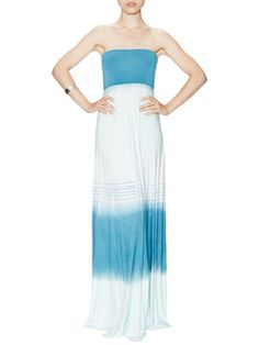 Bangal Abstract Maxi Dress Maternity-Friendly Clothes by Tart on Gilt