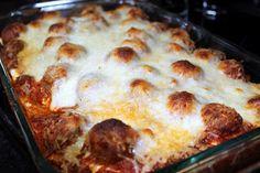 Meatball Sub Casserole - Julie's Eats & Treats