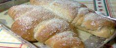Foto - Receita de Pão doce com calda de leite condensado e coco!