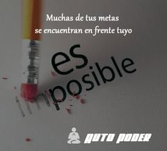 #autopoder #musicapositiva #ritmopositivo #salud #dinero #amor #vida #leydeatraccion #pnl #programacionmental #metas  Muchas de tus metas se encuentran en frente tuyo