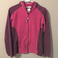 Women's Columbia fleece jacket Fleece hoodie/jacket. size small. good condition. Columbia Other