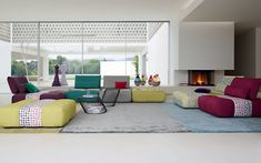 PARCOURS Modular Sofa - Canapé Modulable - Sacha Lakic Design for the Roche Bobois spring summer collection 2015  ©MichelGibert #SachaLakic #RocheBobois