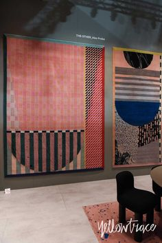 CC Tapis Stand at Salone del Mobile. Photo by Nick Hughes | Yellowtrace