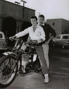 Rick and David Nelson