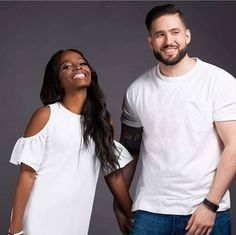 Gorgeous Interracial Couple Find your Here interracial-datin. Black Woman White Man, Black Love, Beautiful Black Women, White Women, Interracial Family, Interracial Marriage, Mixed Couples, Couples In Love, Biracial Couples