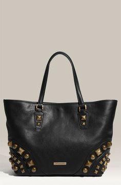 Studded Leather Bag