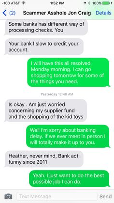 Text Exchange #12 #ScammingTheScammers