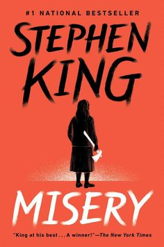 """Misery on Scribd // The #1 national bestseller about a famous novelist held hostage by his """"number one fan"""" and suffering a frightening case of writer's block—that could prove fatal. One of """"Stephen King's best…genuinely scary"""" (USA TODAY)."""