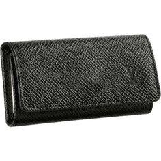 Louis Vuitton 4 Key Holder Taiga Leather M30522