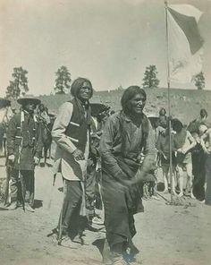 Jicarilla Apache San Antonio Feast Day, Race 1898.