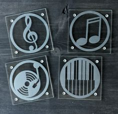 Etched Glass Coaster Set                                                                                                                                                     More