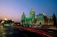pontos turisticos do mexico - Catedral Metropolitana,