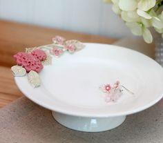 Vintage Floral Jewelry with Martha Stewart Crafts | Damask Love Blog