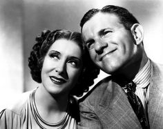 """George Burns and Gracie Allen - My favorite comedy couple. Loved their show! I still watch it in reruns. """"Say Goodnight, Gracie. George Burns, Hollywood Couples, Celebrity Couples, Celebrity Style, Classic Hollywood, Old Hollywood, Hollywood Icons, Hollywood Glamour, Rare Historical Photos"""