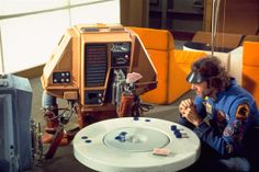 silent running. just another one of those films that captures an era in the sci fi mode. sad and lovely.