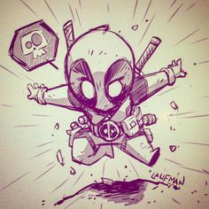 Deadpool Chibi by DerekLaufman on DeviantArt