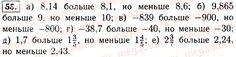 Ответ 55 - Алгебра 7 класс Макарычев