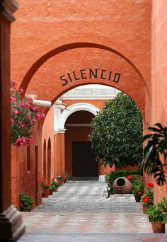 Monasterio de Santa Catalina, Arequipa, Peru - cloistered convent built in 1580 and enlarged in the 17th century.