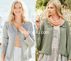 Описание вязания красивых женских жакетовПредлагаем вам в разработку два классических женственных жакета,которые поражают своей женственностью ,простотой,и в то же время элегантностью и стилем. Sweaters, Fashion, Moda, Fashion Styles, Sweater, Fashion Illustrations, Sweatshirts, Pullover Sweaters, Pullover