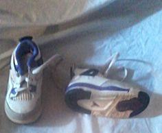 Jordan Baby Retro 4 Basketball Shoes| White/Ultra Violet/Black/Gray rare #Jordan