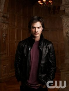The Vampire Diaries  Pictured: Ian Somerhalder as Damon  Photo Credit: Andrew Eccles / The CW  � 2009 The CW Network, LLC. All Rights Reserved.pn